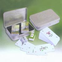 Buy cheap Majong Card Set with Metal Case from wholesalers