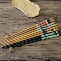 Buy cheap Europe Standard Healthy Tensoge Bamboo Chopsticks in 21mm 24mm from wholesalers