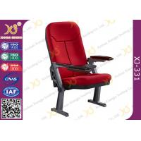 Buy cheap Foldable Aluminum Leg Auditorium Seating Chairs Tip Up Seat With ABS Tablet from wholesalers