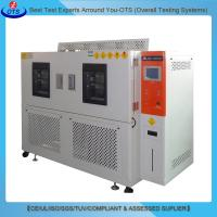 Buy cheap Programmable LCD touch screen LED Light Test Equipment high-low temperature test chamber from wholesalers