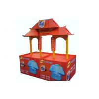 Buy cheap Customized Pop Paperboard Cardboard Counter Display Stands Free Standing from wholesalers