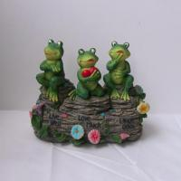 Buy cheap Polyresin Frog Figure Decoration (SFR0652) from wholesalers