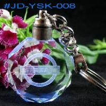 Buy cheap LED Crystal Inner Laser Key Chain (JD-YSK-008) from wholesalers