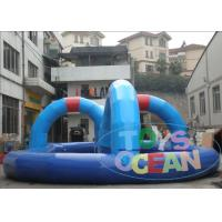 Buy cheap Popular Go Karts Racing Track PVC Commercial Racing  Track For Kids Inflatable Interactive Games For Zorb Ball from wholesalers
