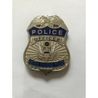 Buy cheap Newest Design Stainless Steel Metal Police Money Clips For Men from wholesalers