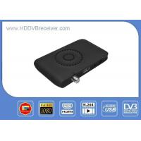 Buy cheap Mini HD MPEG4 DVB S2 Satellite Receiver IKS IPTV Power VU Biss Multi - Patch USB WIFI from wholesalers