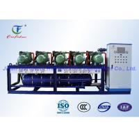 Parallel Screw Compressor Unit , Blast Freezer Bitzer Condensing Unit