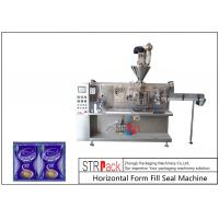 Buy cheap Automatic Sachet Horizontal Form Fill Seal Machine 4 Sides Sealed For Powder Products from wholesalers