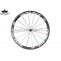 Buy cheap 700C full carbon road bike wheel DURA-ACE C35 38mm clincher tubular carbon wheelset from wholesalers