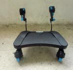 Buy cheap Plastic Kids Buggy Board Three Wheels , Large Standing Platform Stroller Board from wholesalers