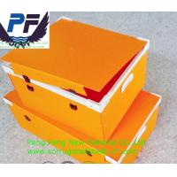Buy cheap 3-6mm white/black/blue/yellow/green color cheap price polypropylene plastic cartonplast for packing industry from wholesalers