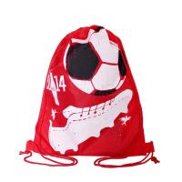 Buy cheap Full Side Printed Polyester Drawstring Backpack , Outdoor Gym Sports Backpack from wholesalers