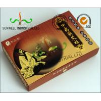 Buy cheap Full Color Printing Medicine Packaging Box , Herbology Small Cardboard Boxes from wholesalers