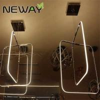 Buy cheap Square Crystal Chandelier LED nature white 4000K for living room Contemporary Square Crystal LED Chandelier from wholesalers