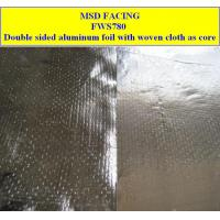 Buy cheap Double Sided Aluminum Foil with PP Woven Cloth as Core from wholesalers