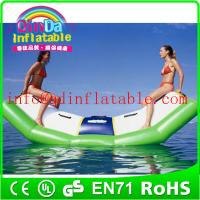 Buy cheap water amusement park custom inflatable water teetertotter toy seesaw for water fun from wholesalers