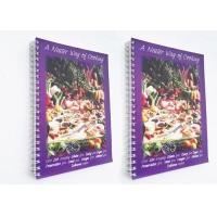 Buy cheap Spiral Binding Paperback Softcover Book Printing 40gsm - 350gsm Paper Weight from wholesalers