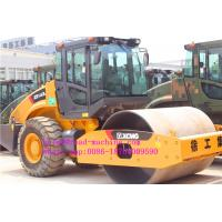 Buy cheap XCMG XS143J 14 ton Road Maintenance Machinery Mechanical single drum vibratory road roller from wholesalers