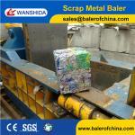 Buy cheap Wanshida CE Certification Hydraulic Aluminum Cans Baler Compactor Machine from wholesalers