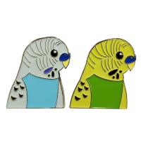 Buy cheap Colorful Bird Lapel Enamel Pins , Soft Enamel Lapel Pins Badges With Gold Plating from wholesalers