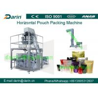 Buy cheap Juice liquid spout pouch packing Machine / food pouch packaging machines from wholesalers
