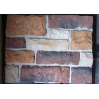 Buy cheap Irregular Artificial Wall Stone Decorative Low Water Absorption from Wholesalers