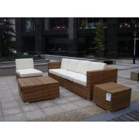 Buy cheap Outdoor Indoor PE Rattan Sofa With Side Sofa , Middle Sofa , Ottoman , Coffee Table from Wholesalers