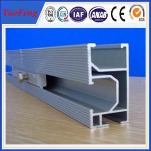 Buy cheap high efficiency10000w solar panel mounting aluminum rail, Solar Module Mounting Rail product