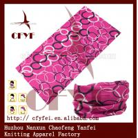 Buy cheap OEM service Fashion Polyester Seamless Bandanas Scarf from wholesalers