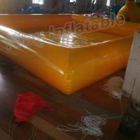 Buy cheap New Design 0.9mm PVC Tarpaulin Single Layer Inflatable Swimming Pools For Family Fun from wholesalers