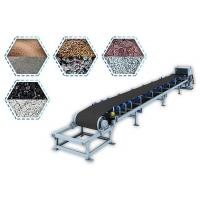 Buy cheap V Idler Belt Conveyor Machine High Stable Speed Long Service Life For Heavy Bulk Materials from wholesalers