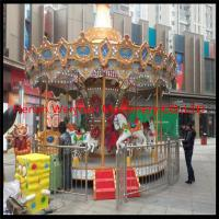 Buy cheap More than 10 years experience in fashion style luxury carousel 8 seats carousel horses from wholesalers