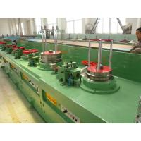 PLC Logic Control High Speed Wire Drawing Machine For Spring Wire LZ9 / 600