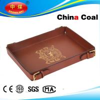Buy cheap Leather Tray Apply To Tea And Other Service Tray product
