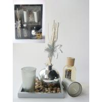 Buy cheap Silver luxury reed diffuser gift set from wholesalers