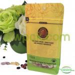 Buy cheap Drip Coffee Ziplock Flat Bottom Gusset Bags / Aluminium Block Bottom Bags With Valve from wholesalers