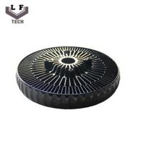 Buy cheap ADC12 Powder Coating Aluminium Die Castings Sun Flower Aluminum CPU Heat Sink from wholesalers