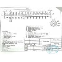 Transmission Line Stay Type Insulator 220KV 9.5KN , 6142mm Min Creepage Distance