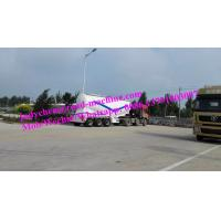Buy cheap Sinotruk Brand Bulk Cement / Fly Ash Tank Semi Trailer Trucks 3 Axles Loading Volume 55m3 With ABS from wholesalers