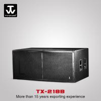 Buy cheap Touring Sound System High Quality Low Price Professional Subwoofer For Church Wedding Loudspeaker  TX-218B from wholesalers