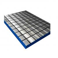 Buy cheap cast iron t slot plate from wholesalers