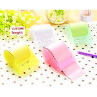 Buy cheap ABS Case Tubular 10m Personalized Sticky Notes For School / Office from wholesalers