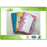 Buy cheap Yellow Paper Blank Spiral Notebook , ROHS Spiral Bound Engineering Notebook from wholesalers