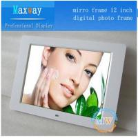 Buy cheap Set time on/off and motion sensor 12 inch digital photo frame for advertising product
