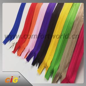 Buy cheap Brass / Aluminum / Plastic / Derlin / Nylon Invisible Zipper Slider Long Chain product