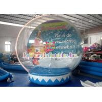 Buy cheap Transparent Outdoor Inflatable Tent for Advertising Decoration / inflatable christmas snow globe from wholesalers