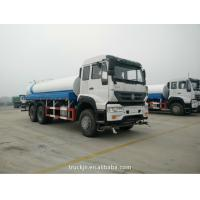 Buy cheap Howo Sprinkler Water Tank Truck 10cbm 10 Wheel 336hp With Long Life Time from wholesalers