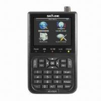 Buy cheap Satellite Finder with 3.5-inch Screen Digital TV, Resolution of 720 x 576,720 x 480 Pixels from wholesalers