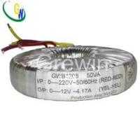 Buy cheap 110V-230V Epoxy Potting Audio Amplifier Toroidal Transformer from wholesalers