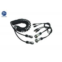 Buy cheap 7 Pin Retractable Coiled Electrical Wire For Car Surveillance Camera System from wholesalers